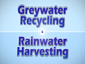 Picture of Greywater Recycling & Rainwater Harvesting