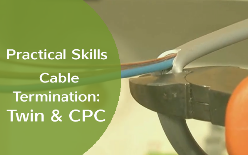 Picture of Practical Skills - Cable Termination: Twin & CPC