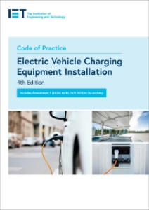 Picture of Code of Practice for Electric Vehicle Charging Equipment Installation (IET Standards) Paperback – 12 May 2020